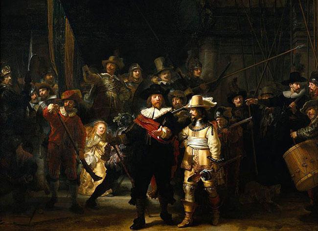 , Quand la Photo de Classe s'Inspire d'une Toile de Rembrandt