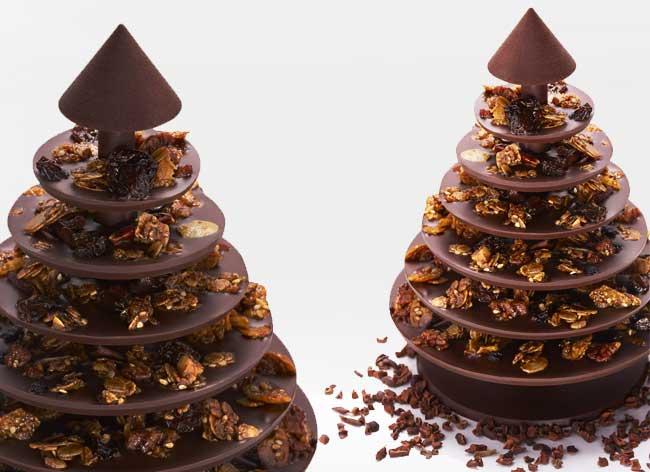 , Sapin de Noel en Chocolat à Monter Soi-Meme et à Déguster (DIY)