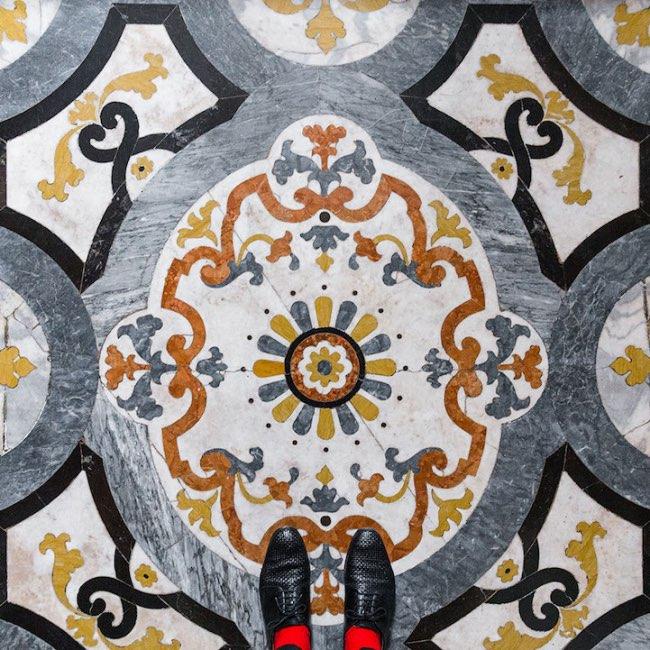 , Les Sols de Venise sont de Veritables Oeuvres d'Art