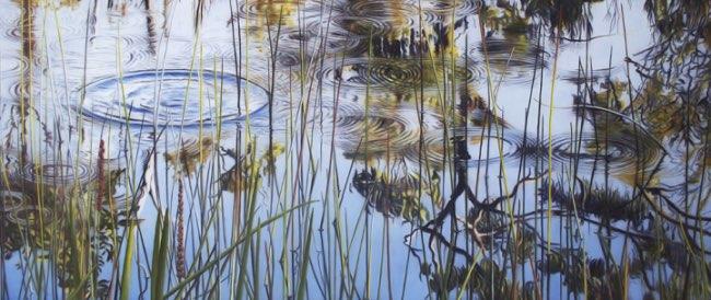 , Ces Peintures Aquatiques sont un Hymne à la Tranquillité et la Sérénité