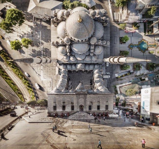 aydin buyuktas flatland paysages impossibles 0 - La Megapole d'Istanbul dans une Mise en Images Renversante