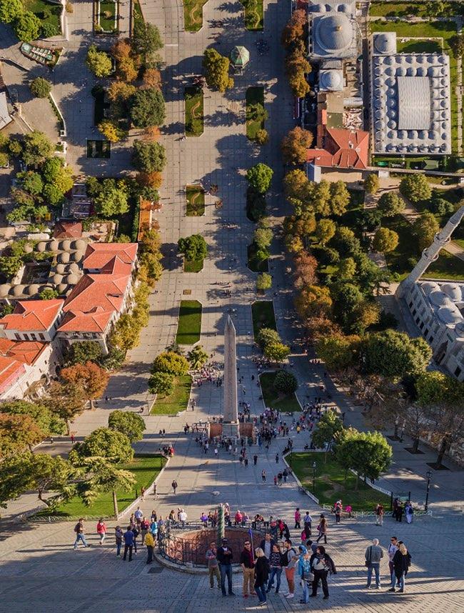 aydin buyuktas flatland paysages impossibles 3 - La Megapole d'Istanbul dans une Mise en Images Renversante