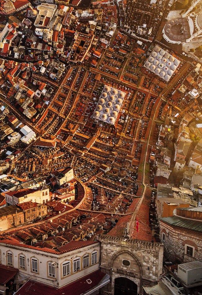 aydin buyuktas flatland paysages impossibles 5 - La Megapole d'Istanbul dans une Mise en Images Renversante