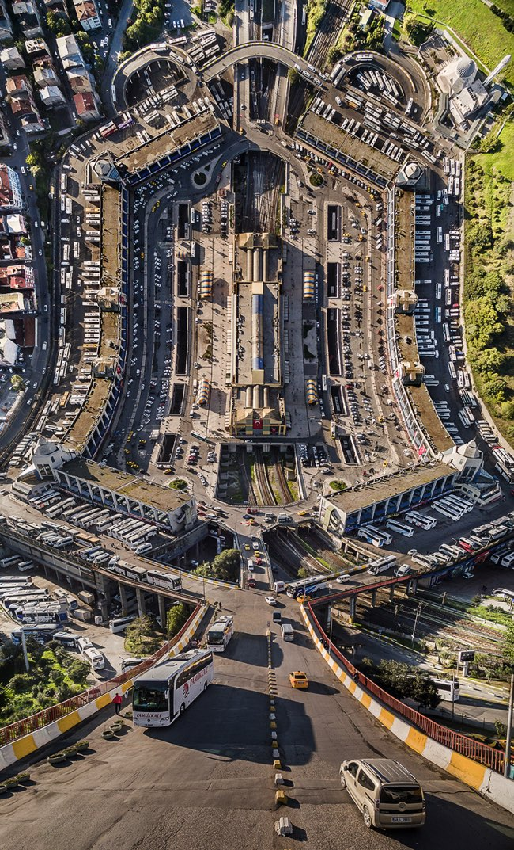 aydin buyuktas flatland paysages impossibles 7 - La Megapole d'Istanbul dans une Mise en Images Renversante