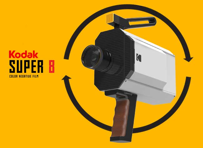 , Yves Behar Revisite la Camera Super 8 de Kodak (video)