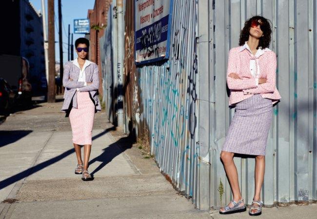 , Chanel Passe l'Eté 2016 à New York