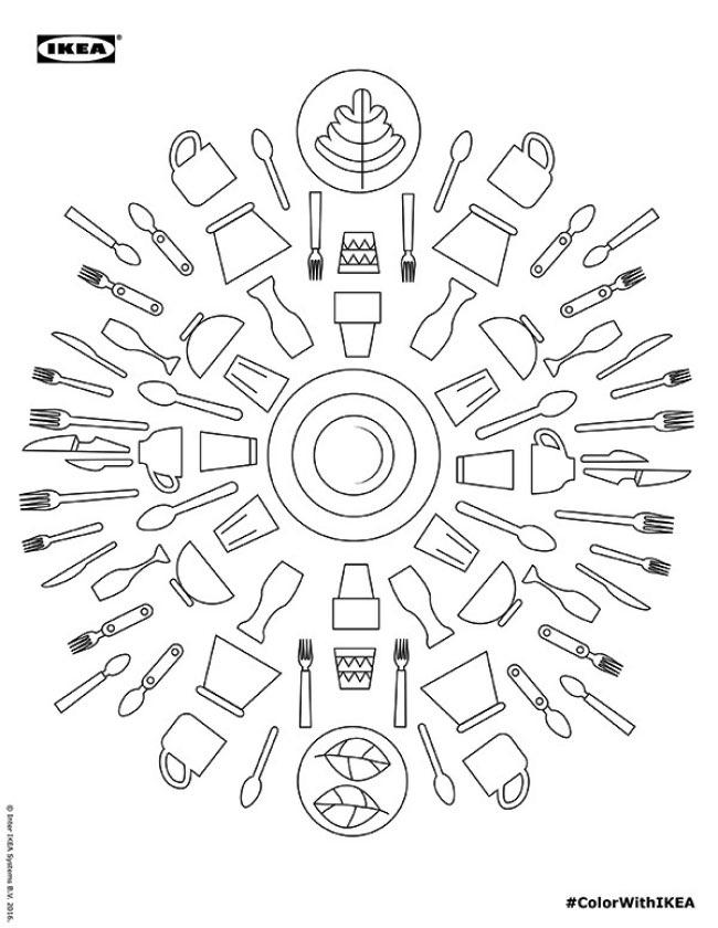 , Detendez-vous avec l'Album de Coloriage Ikea
