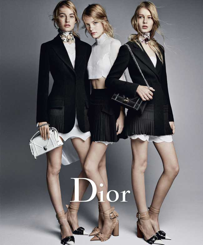 , Un Eté Dior 2016 entre Amies en Robes Blanches