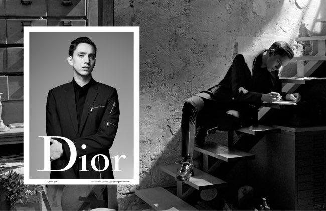 , Cet Ete Dior Homme Invite Alain-Fabien Delon et Oliver Sim