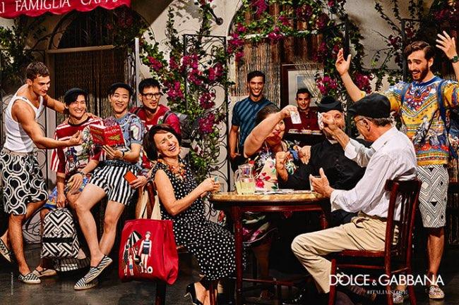 , Dolce & Gabbana Homme pour un Ete 2016 en Terrasse !