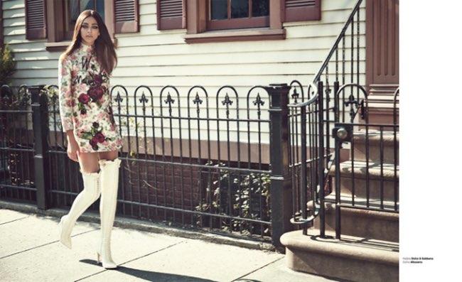 , le Chic des Années 60 à la Une du Harper's Bazaar