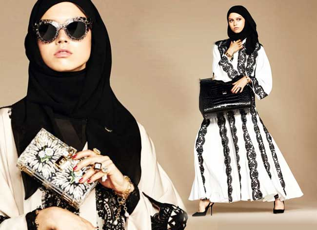 hijabs haute couture dolce gabbana 0 - Hijabs et Abayas Haute Couture Dolce & Gabbana