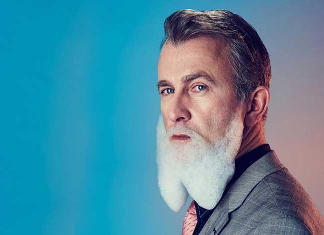 mindo cikanavicius bubbleissimo barbe savon postiche 1 - Ils se Font Mousser une Barbe pour Ressembler aux Hipsters