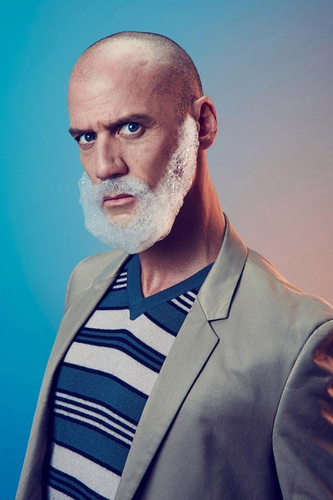 mindo cikanavicius bubbleissimo barbe savon postiche 4 - Ils se Font Mousser une Barbe pour Ressembler aux Hipsters
