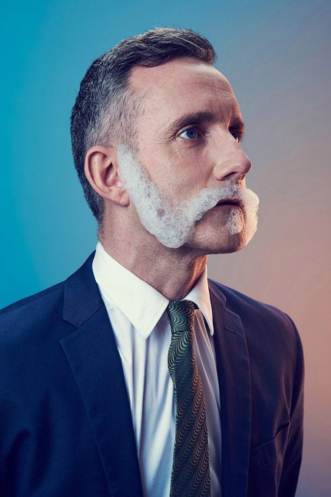 mindo cikanavicius bubbleissimo barbe savon postiche 6 - Ils se Font Mousser une Barbe pour Ressembler aux Hipsters