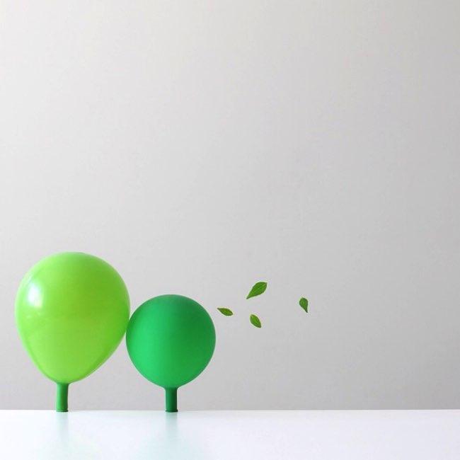 peechaya burroughs detournement ballons photos 4 - Les Ballons de Baudruches dans un Détournement Creatif
