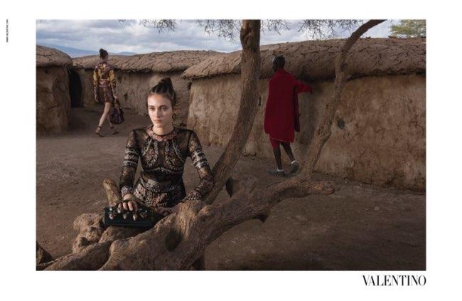 , Campagne Valentino par Steve McCurry au Kenya