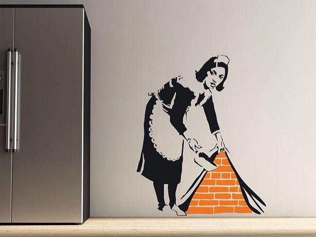 , Avec les Stickers Banksy Mettez votre Salon au Street Art