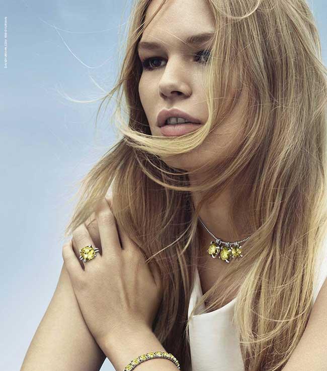 , David Yurman a Trouvé sa Brigitte Bardot pour l'Eté 2016