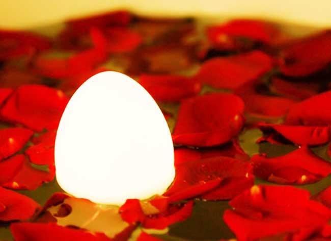 , Restez Zen Mettez cet Oeuf Lumineux dans votre Intérieur