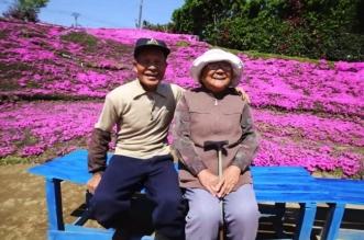 kuroki japon fleurs jardin femme aveugle 9 331x219 - Pour son Epouse Aveugle, Papi Plante des Milliers de Fleurs (video)