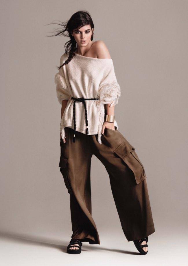 , Kendall Jenner, l'Egérie Tribale pour Mango Eté 2016