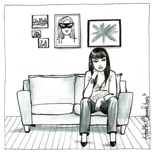 , Les Petits Bonheurs Illustrés d'une Célibataire Epanouie