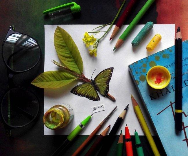 r4x4j art o holic illustration 2d 3d interactivite 10 - Amusantes Interactions Creatives entre Réalité et Illustration
