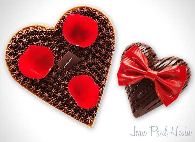 , 12 Pâtisseries de Chefs Parisiens Spécial Saint Valentin