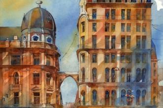 tytus-brzozowski-varsovie-aquarelle-peinture-3