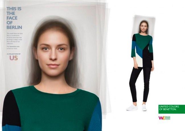 , Les Top-Modèles de Benetton sont des Images de Synthèse