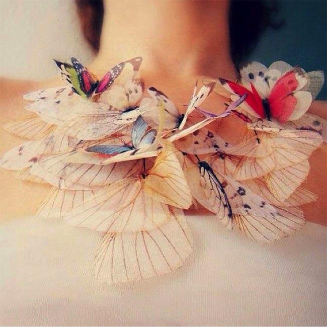 , Quand les Papillons se Font Bijoux aux Airs Enchanteurs