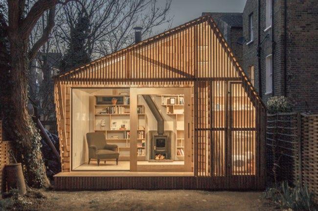 , Cette Cabane d'Ecrivain est un Havre de Paix au Coeur de la Ville