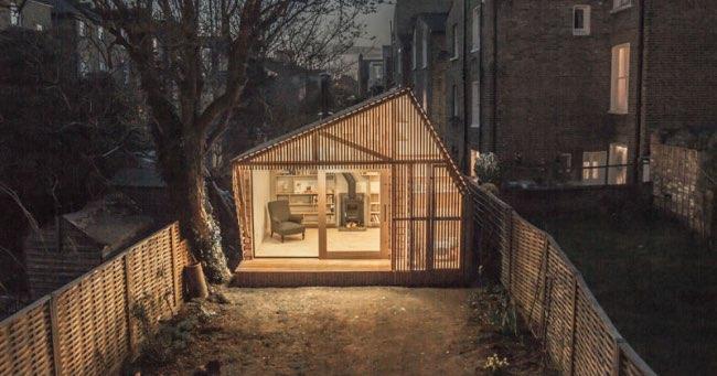 Cette Cabane d\'Ecrivain est un Havre de Paix au Coeur de la Ville ...