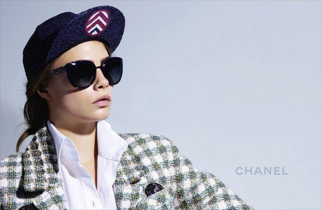 bfbeae718e chanel lunettes soleil vue solaire femme ete 2016 2 - Lunettes de Soleil  Chanel Ete 2016