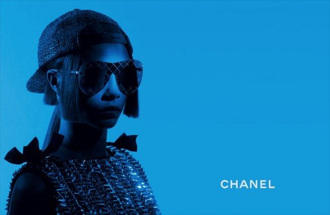 26f1dd77fecc3 Lunettes de Soleil Chanel Ete 2016   Le Hip Hop Chic pour Elle ...