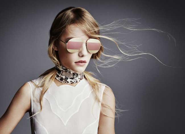 Dior Split, les Lunettes de Soleil Aviator à Double Effet Miroir ... 040db6193c97
