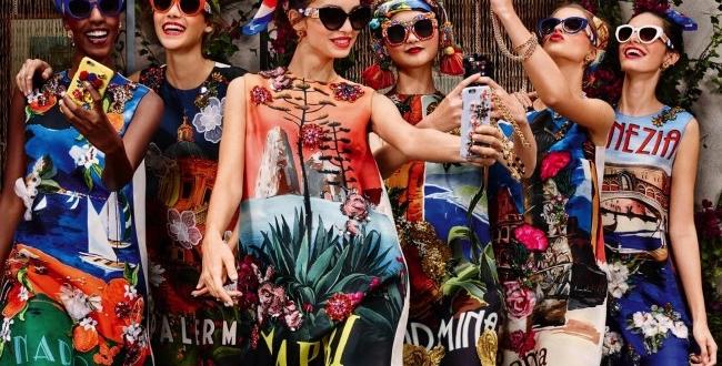 6bab06613756c Solaires XXL en Fleurs pour Dolce   Gabbana Ete 2016 - MaxiTendance