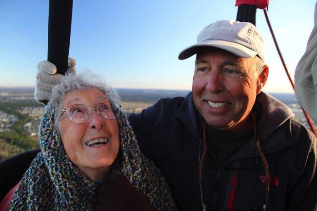 , A 90 Ans, elle Dit Non au Cancer et Part Faire le Tour des Etats-Unis