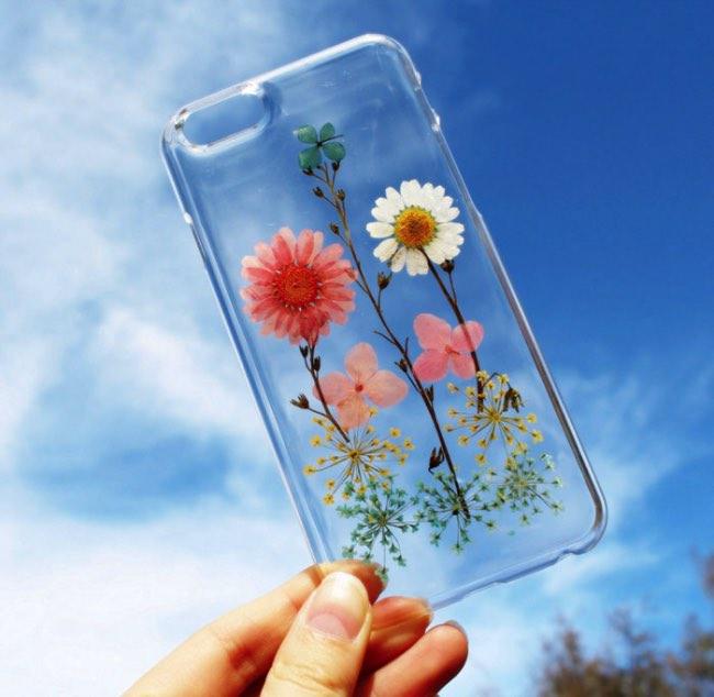 fleurs veritables houseofblings iphone coque transparents 3