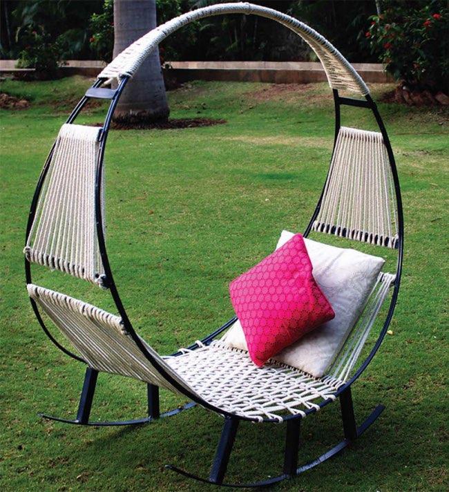 , Voici le Premier Hamac Rocking Chair à faire Tourner la Tête