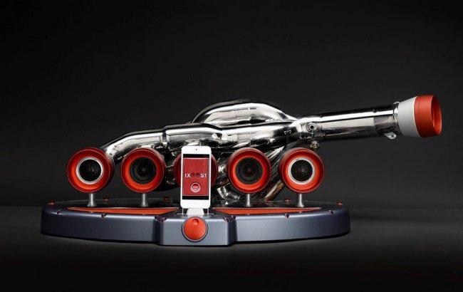 , Un Vrai Faux Moteur Ferrari pour Booster le Son des Smartphones