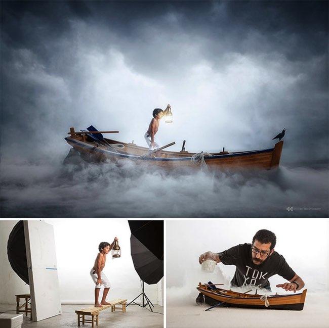 , Avec des Jouets, Il Réalise de Spectaculaires Photos Créatives (video)
