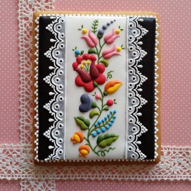 mezesmanna broderies art gateaux 1 - Ces Délicieux Gâteaux aux Décorations Brodées sont à Croquer (video)