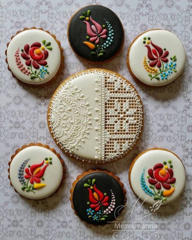 mezesmanna broderies art gateaux 3 - Ces Délicieux Gâteaux aux Décorations Brodées sont à Croquer (video)