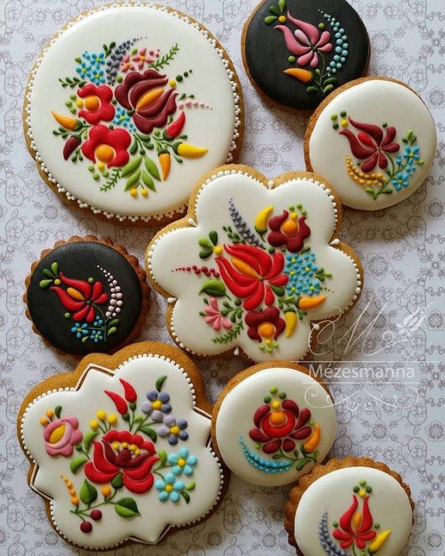 mezesmanna broderies art gateaux 4 - Ces Délicieux Gâteaux aux Décorations Brodées sont à Croquer (video)