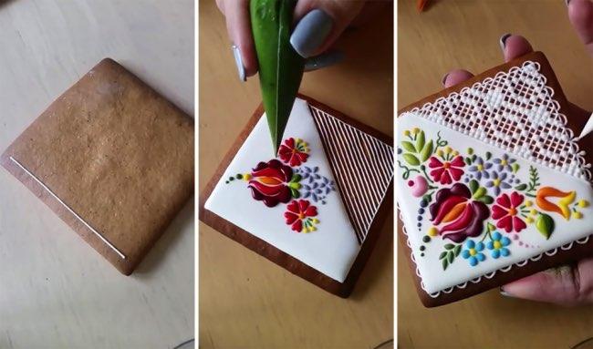 mezesmanna broderies art gateaux 6 - Ces Délicieux Gâteaux aux Décorations Brodées sont à Croquer (video)