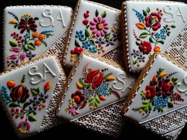 mezesmanna broderies art gateaux 7 - Ces Délicieux Gâteaux aux Décorations Brodées sont à Croquer (video)