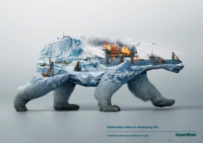 robin wood campagne 2016 pub environnement 2 - Campagne en Double Exposition pour Protéger l'Environnement