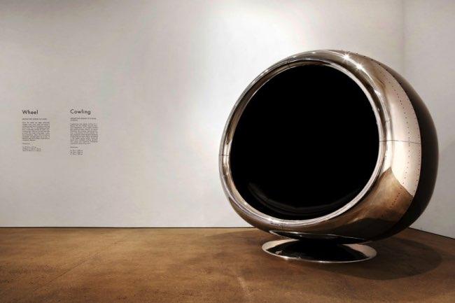 , Le Réacteur du Boeing 737 Transformé en Luxueux Fauteuil